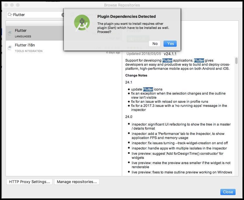 Android StudioでFlutterを使うための設定手順 - KOKENSHAの技術ブログ